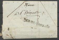 1802 Lettre MARQUE LINEAIRE Deb De Toulon VAR(78) Ind 16 X2111
