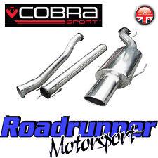 """Vx75 Cobra Sport ASTRA MK5 1.4 1.6 1.8 dispositivo silenziatore di scarico 2.5 """"non echeggiate tratteggio"""
