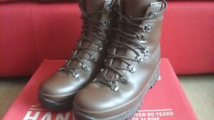 Hanwag Special Forces LX Boots. MOD Brown used