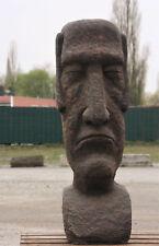 OSTERINSEL KOPF 100 cm HOCH FIGUR STEINGUSS MOAI DEKORATION NEU FROSTFEST JA-010