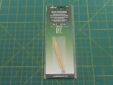 Clover Bamboo Interchangeable Circular Knitting Needles - No. 6 - 4.0 mm - 3636