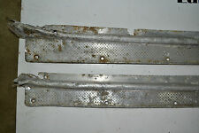 1946-47 Cadillac 2 Door and Others: Sill Plates  *PAIR*