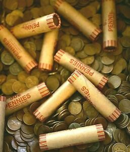 Wheat Penny Rolls (1909-1958) - P/D/S - Unsearched - Free Shipping