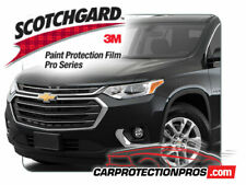 2018-2019 Chevrolet Traverse 3M Pro Series Clear Bra Deluxe Paint Protection Kit