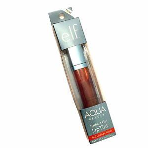 One elf Aqua Radiant Gel Lip Tint Red Orange Wash 0,20 fl. oz.