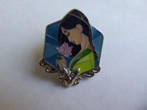 Disney Trading Pins Disney Princess Stained Glass Blind Box - Mulan