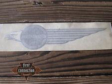 Harley FLHT réservoir Décalque left 14063-84 tankaufkleber silver/Grey/Black