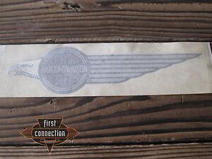 Harley FLHT Tank Decal left 14063-84 Tankaufkleber silver/grey/black