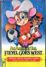 1991 Sealed An American Tail Fievel Goes West Trading Cards 36 Packs,Impel