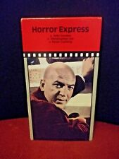 Horror Express VHS Horror Slasher Telly Savales Christopher Lee Peter Cushing