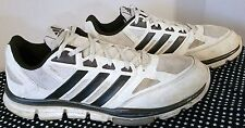 2014 Adidas Men's Speed Trainer Shoe, White w/Black trim,753001,US 12.5 Eur47.3