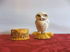 HARRY POTTER SECRET BOXES HEDWIG THE OWL  2000 Department 56 LE Treasure Box