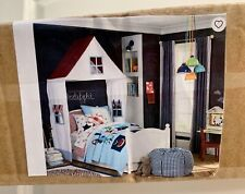 """POTTERY BARN KIDS """"HOUSE"""" CANOPY -Make Believe- Fits Twin, Full or queen NIB"""