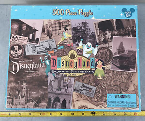 DISNEYLAND 50TH ANNIVERSARY 513 PIECE PUZZLE Original Box