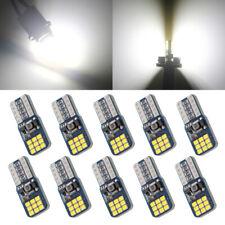 10Pcs 12V 24V T10 W5W 194 168 18SMD Canbus Error Free Led Nonpolarity Light Bulb