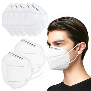 PAIR OF KN95 FOLDING PARTICULATE MASK - GREAT FOR KEEPING THE VIRUS OUT