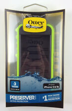 100%  Authentic Otter Box Preserver Case iPhone SE & 5S Green Color ,Water proof