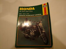 75-79 Haynes Honda Goldwing GL1000 Owners Shop Manual GL 1000 Gold Wing repair