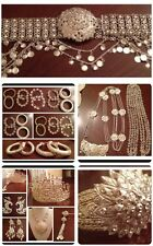 Khmer Cambodian Silver Wedding Jewelry Complete Set