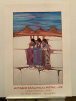 24x34 vintage AMADO PENA expo poster print never framed - bright colors!
