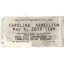 ALICE IN CHAINS & LIMP BIZKIT & DEFTONES Concert Ticket Stub 5/4/13 CONCORD NC