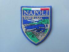 NAPOLI PANORAMA CITTA'  PATCH TOPPA RICAMATA TERMOADESIVA CM.5,5x7