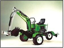 SALE!!! OEM PLANS FOR SELF DRIVE TRUCK HOE BACKHOE MINI EXCAVATOR, TRENCH DIGGER