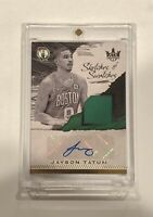 2017-18 Panini Court Kings Jayson Tatum RPA ROOKIE PATCH AUTO #d 215/299 MINT🔥