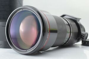 [Mint] Canon New FD NFD 50-300mm F/4.5 L Lens with Hood and Case from Japan