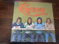 crazy horse crazy - alain delorme - johnny dominique freddy - disque az 29502