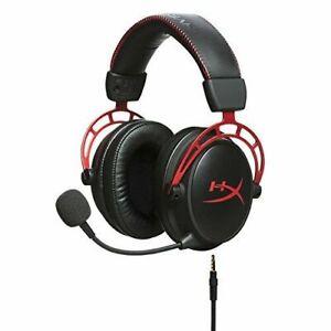 [New Original] HyperX Cloud Alpha Gaming Headset - HX-HSCA-RD/AM