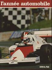 L'année automobile n°32 1984-1985