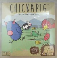 Chickapig Board Game- Family Board Game, New Factory Sealed