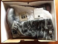 Frye Boots Veronica Slouch Boot Distressed Leather - US 10 Fit UK 7.5/ 8 ? Boxed