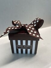 Henri Bendel New York Empty Jewelry Paper Box Brand New. Can Be Holiday Decor.
