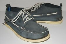 $125 Men's Sperry Chukka Boots Shoes Navy Size 10 # 0824870