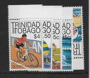 1984 Trinidad & Tobago: Olympics LA Complete Set SG656-659  Unmounted Mint (MNH)
