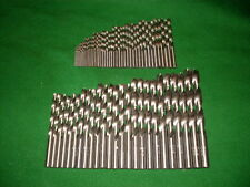 70 Piezas HSS-G barrenas frase din 338/rn 1,0 mm - 10,0 mm x 0,5 mm