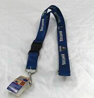 NBA Minnesota Timberwolves Blue Lanyard Key Chain W/ Detachable Buckle