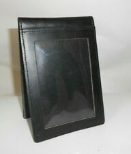 Genuine Leather Notepad Holder *Black*