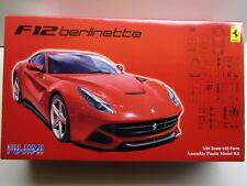 Fujimi 1:24 Scale Ferrari F12 Berlinetta Model Kit - New 125626-4000 - 109 Parts