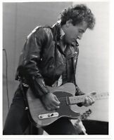 BRUCE SPRINGSTEEN PHOTO 1985 HAND PRINTED 10 INCH EXCLUSIVE IMAGE NEWCASTLE GEM