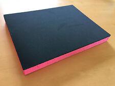 Koffereinlage aus Hart-Schaumstoff für Sortimo I-BOXX anthrazit-rot 30mm