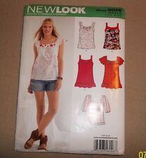 New Look Pattern 6026 Ladies Tops Sz 4-16. New. w/European Sizes also