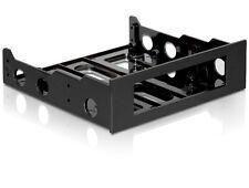 """Delock Einbaurahmen Festplatte 3,5"""" in 5,25"""" Einbauschacht - Kunststoff schwarz"""