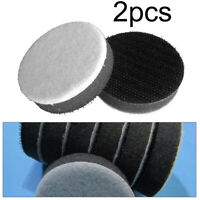2pcs 2inch 50mm Sponge Interface Pad For Sanding Pads Hook And Loop Sander Discs