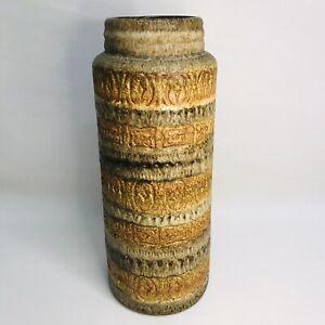 41cm Scheurich Keramik 289-41 West German Pottery Floor Vase Retro 1960/70s