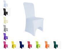 PONA ® Lot de 10 Housses de chaise adaptables mariage anniversaire élastique