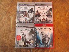 4 - ASSASSINS CREED - PS3 Games         (lot 14733)
