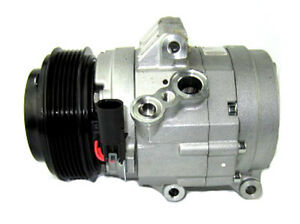 For Ford Fusion 2006-2007 AC A/C Compressor w/ Clutch Delphi Remanufactured